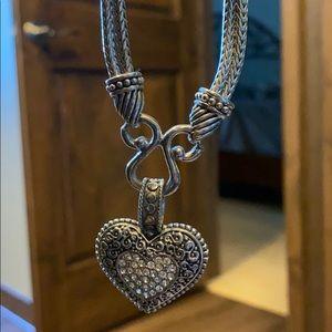 Lia Sophia heart necklace